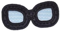 Applique Eyewear embroidery design