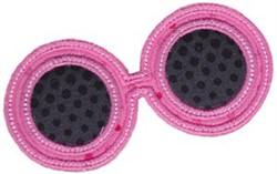 Sunglasses Applique embroidery design