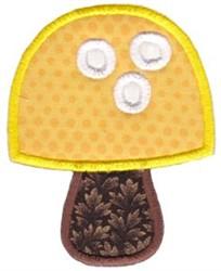 Mushroom Applique embroidery design