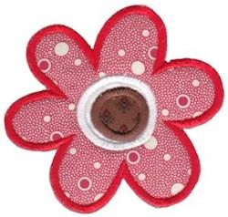 Flower Applique embroidery design
