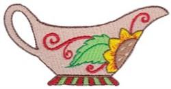 Gravy Boat embroidery design
