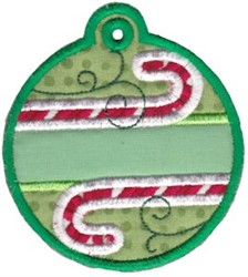 Christmas Tags Applique embroidery design
