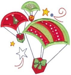 Santas Sleigh Applique embroidery design