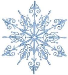 SnowflakesToo embroidery design