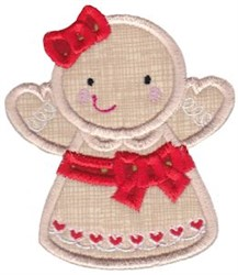 Here Comes Christmas Applique embroidery design