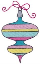 Retro Christmas Ornament embroidery design