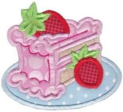 Baking Applique embroidery design