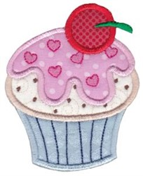 Cupcake Baking Applique embroidery design