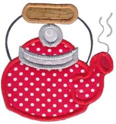 Kettle Baking Applique embroidery design