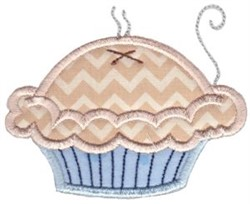 Pie Baking Applique embroidery design