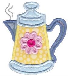Tea Pot Baking Applique embroidery design