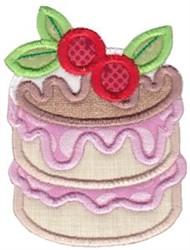 Petit Four Baking Applique embroidery design