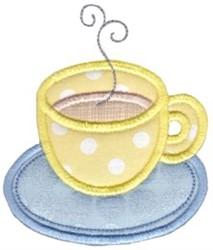 Caffeine Baking Applique embroidery design