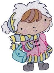 Winter Cutie embroidery design