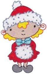 Christmas Winter Cutie embroidery design