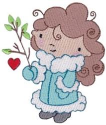 Winter Cutie & Branch embroidery design