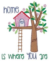 Home Is Where You Are embroidery design