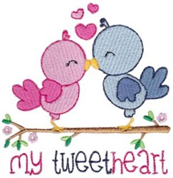 My Tweetheart embroidery design