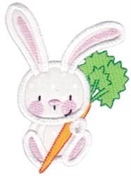 Snuggle Bunny Applique embroidery design