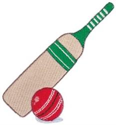 Cricket Bat embroidery design