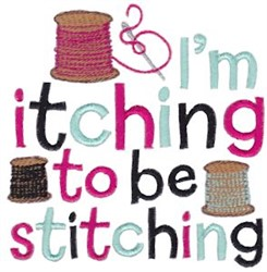 Itching Stitching embroidery design