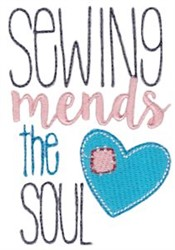 Sewing Mends embroidery design