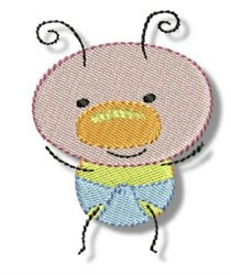 Baby Bug embroidery design