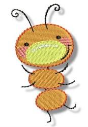Happy Bug embroidery design