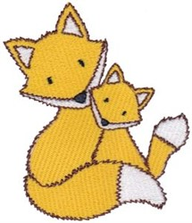 Fox & Kit embroidery design
