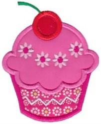 Applique Cupcake embroidery design