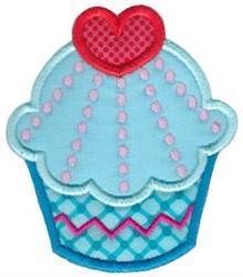 Love Cupcake embroidery design