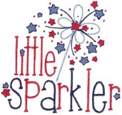 Little Sparkler embroidery design