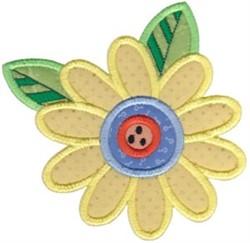 Applique Daisy embroidery design