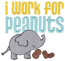 Work For Peanuts embroidery design