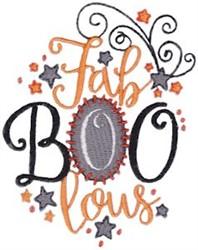 Fab Boo Lous embroidery design
