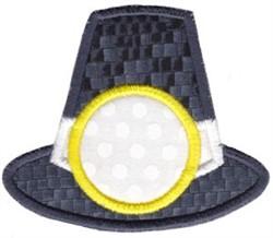 Pilgrim Hat Monogram embroidery design
