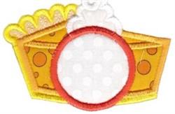 Pumpkin Pie Monogram embroidery design