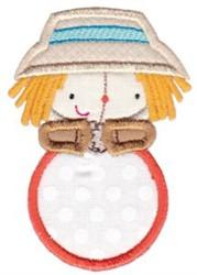 Scarecrow Monogram embroidery design