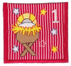 Advent Calendar 1 embroidery design