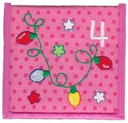 Advent Calendar 4 embroidery design