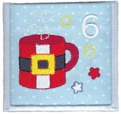 Advent Calendar 6 embroidery design