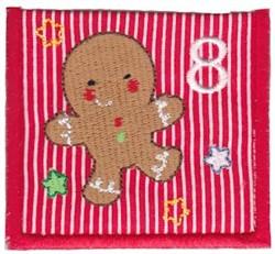 Advent Calendar 8 embroidery design