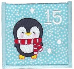 Advent Calendar 15 embroidery design