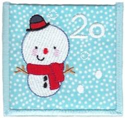 Advent Calendar 20 embroidery design