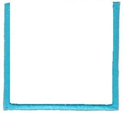 Advent Calendar Frame embroidery design