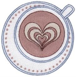 Love Coffee embroidery design