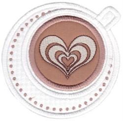 Cafe Latte embroidery design