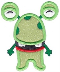 My Monster Applique embroidery design