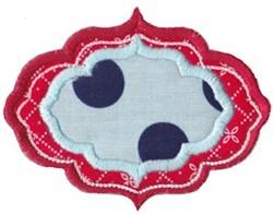 Frame It Applique embroidery design