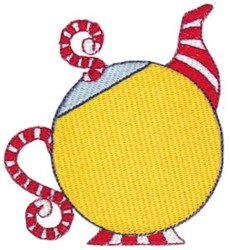 Teapot Whimsy embroidery design